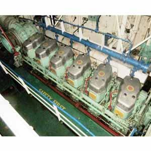 Marine Engine Mak 551ak
