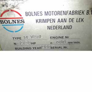 Bolnes 14 VDNL