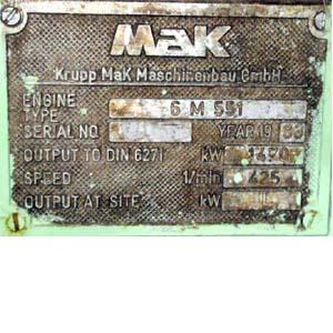 MAK 6 M 551