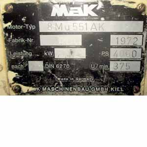 MAK 8 MU 551 AK