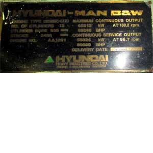 Man B&W 12 K 98 MCC (X)