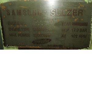 Sulzer 6 RTA 84 C