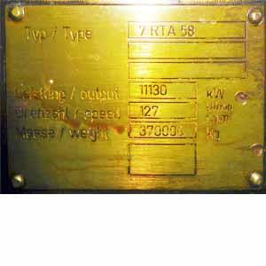 Sulzer 7 RTA 58
