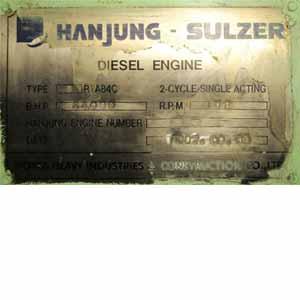 Sulzer 8 RTA 84 C