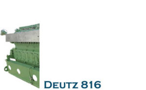 DETUZ 816 Engine parts