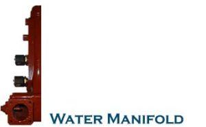 WATER MANIFOLD DETUZ 816