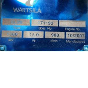 Wartsila 8L20