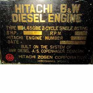 Hitachi Zosen-B&W 9L45GBE